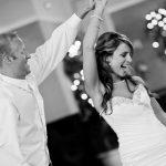 Wedding Party Dance Bride Groom Fun Celebration